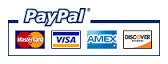 We accepts all major credit cards.